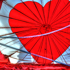 Heart Balloon by James Martinez - Transportation Other