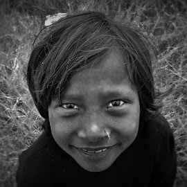 She smiled.  by Tarunkishwor YumNam - People Street & Candids (  )