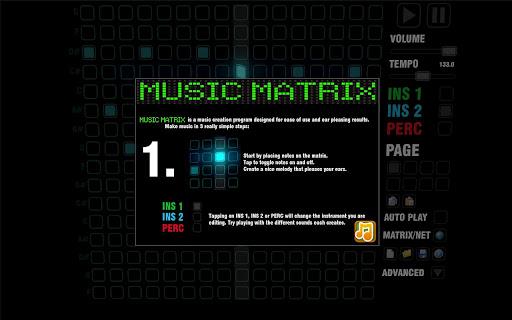 音楽マトリックスHD