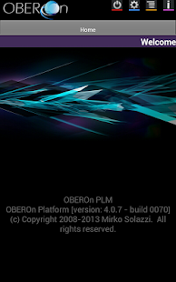 OBEROn client - screenshot