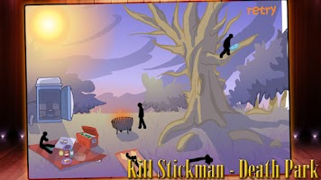 Screenshot of Stickman Click Death Park