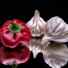 Splash of red by Rakesh Syal - Food & Drink Fruits & Vegetables (  )