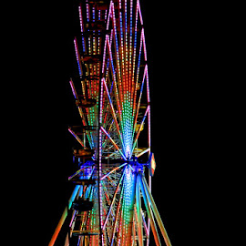 Ferris Wheel! by Fred Herring - City,  Street & Park  Amusement Parks