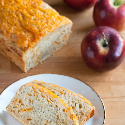 Apple Cheese Beer Quickbread