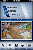 Screenshot of Innovative Concrete Technology