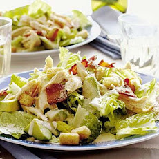 Chicken & bacon Caesar salad