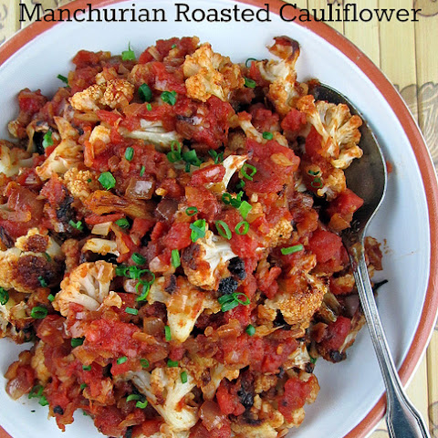 Manchurian Roasted Cauliflower