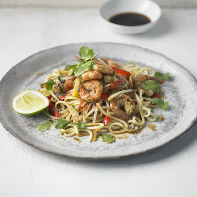 Thai Prawn, Ginger & Spring Onion Stir-fry
