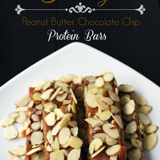 Peanut Butter Chocolate Chip Protein Bars