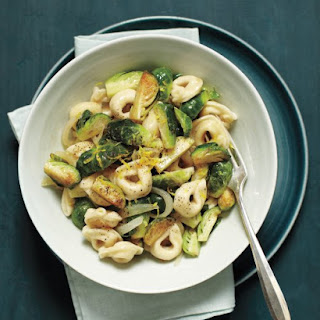 Tortellini with Lemon and Brussels Sprouts
