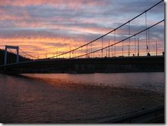 Erzsébet Bridge, Budapest.