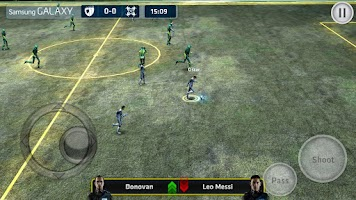 Screenshot of The Match: Striker Soccer G11