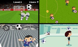 Screenshot of Juegos de futbol gratis