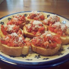 Cream Cheese Bruschetta