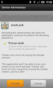 Just Lock - screenshot