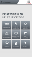 Screenshot of SEAT Service app