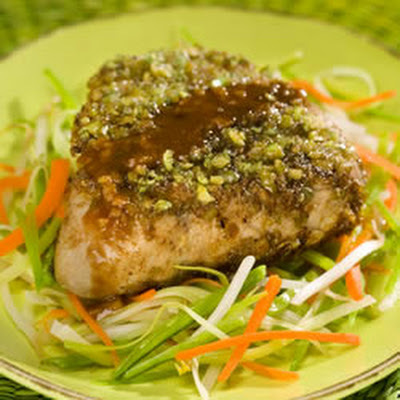 green onion seared tuna steaks with wasabi green onion mayonnaise ...