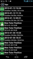 Screenshot of Tutor Tracker