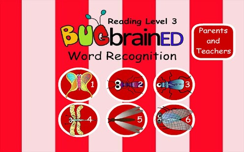 Word Recognition Level 3 - screenshot