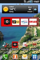 Screenshot of Vodafone Mobile TV