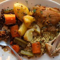 Chicken & Lentil Cholent