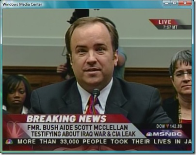 Scott McClellan testifies before Judiciary Committee