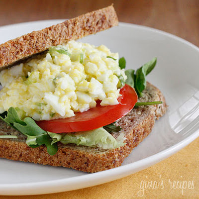 Skinny Low-Yolk Egg Salad