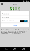 Screenshot of White Rose Credit Union Mobile