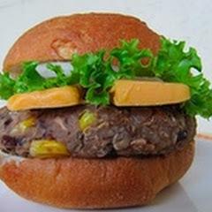 gluten free hamburger deluxe.