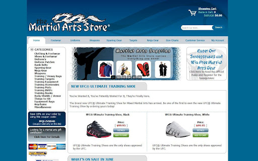 The Martial Arts Store® TMAS