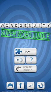 Wordgenuity® Super Word Jumble