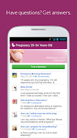 Screenshot of I'm Expecting - Pregnancy App