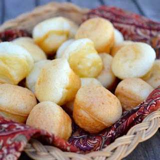 Brazilian Cheese Puffs with Ranchero Queso Fresco