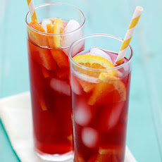 Tangerine Raspberry Iced Tea