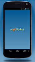Screenshot of Holidays