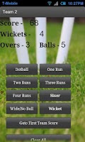 Screenshot of Cricket Score Counter