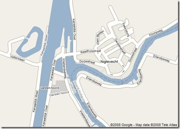 Nigtevecht map