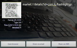 Screenshot of QR Code Scanner - Barcode Scan