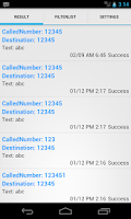 Screenshot of SMSForward