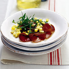Bresaola With Exotic Fruit Salsa