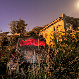Old Rusty by James MacKay - Transportation Automobiles ( car, vw, barn, rusted )