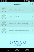 Screenshot of Revsam