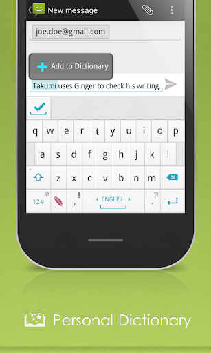 spell-check-grammar-keyboard for android screenshot