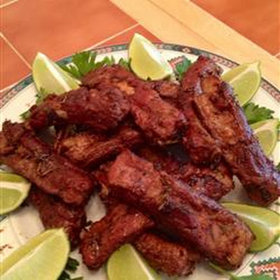 Mom's Stovetop Pork Ribs