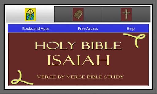 HOLY BIBLE: ISAIAH STUDY APP