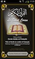 Screenshot of Coran Français Audio Lite