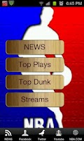 Screenshot of NBA Game Streams