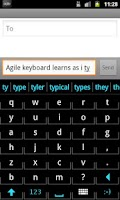Screenshot of Agile Keyboard Free