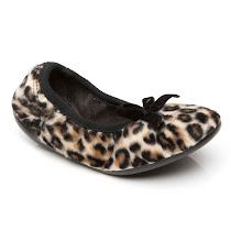 Cienta Leopard Pump Slipper SLIPPERS