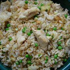 Short -Cut Chicken Fried Rice (Oamc)